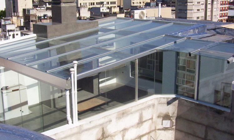 Solarium cerramientos aberturas de aluminio for Cerramientos oficinas